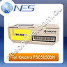 Kyocera Genuine TK584Y YELLOW Toner Cartridge for FSC5150DN (2.8K Page Yield) P/N:1T02KTAAS0 [TK-584Y]